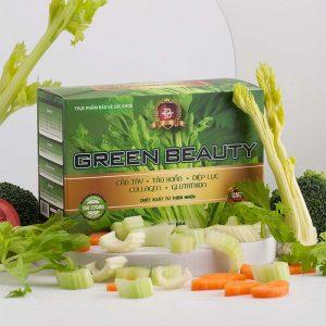nước ép cần tây green beauty vị lá nếp